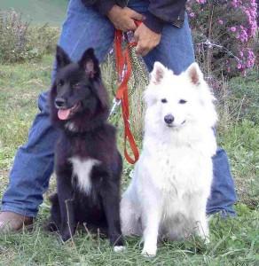Banja mit ihrer Mutter Alena